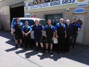 The Jordan Rover Tech Team